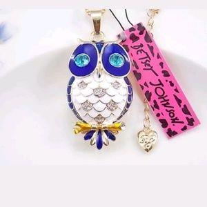 CUTE owl Neckalace BJ